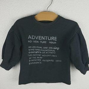 Toddler Girl Adventure Pullover Sweatshirt